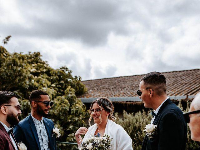Le mariage de Julien et Marine à Mirepoix, Ariège 56