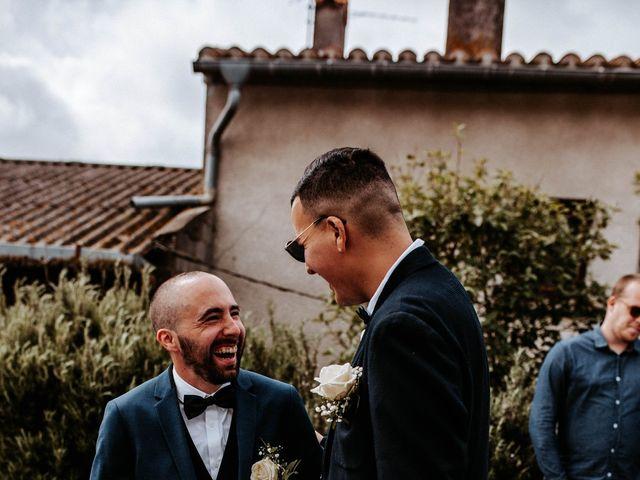 Le mariage de Julien et Marine à Mirepoix, Ariège 59