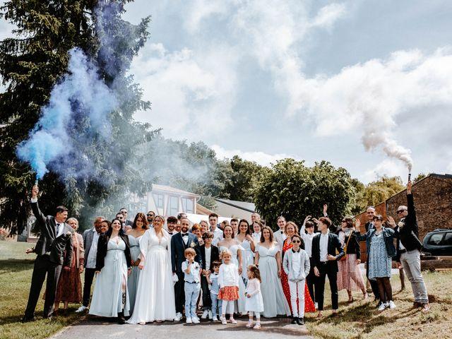 Le mariage de Julien et Marine à Mirepoix, Ariège 66