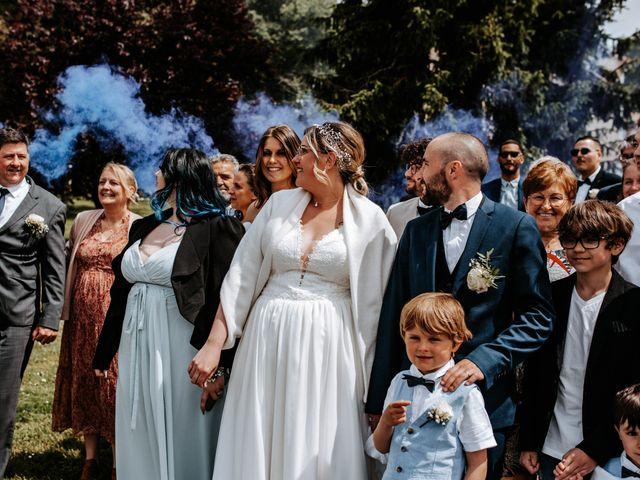 Le mariage de Julien et Marine à Mirepoix, Ariège 67