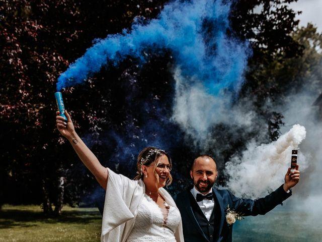 Le mariage de Julien et Marine à Mirepoix, Ariège 70