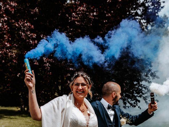 Le mariage de Julien et Marine à Mirepoix, Ariège 71