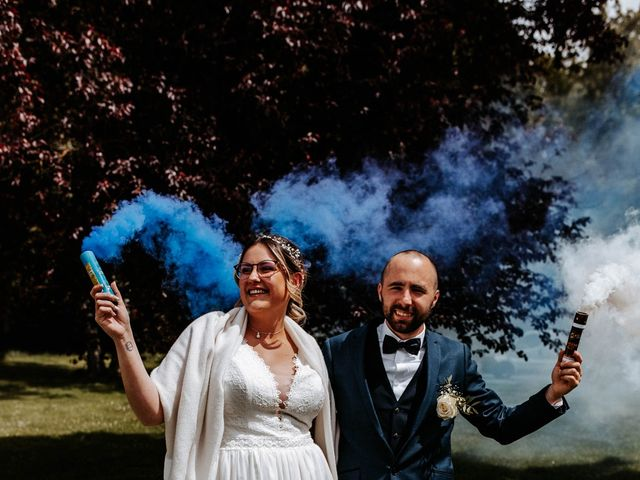 Le mariage de Julien et Marine à Mirepoix, Ariège 72