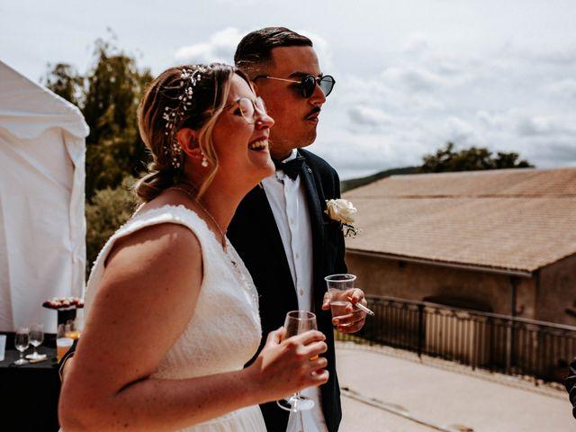 Le mariage de Julien et Marine à Mirepoix, Ariège 92