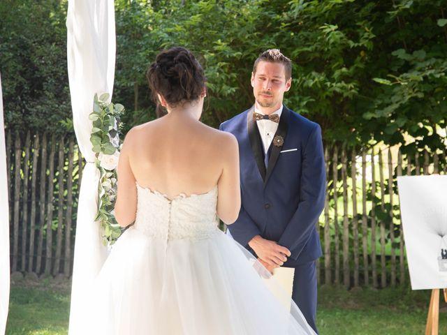 Le mariage de Fabien et Laura à Saint-Privat, Corrèze 17