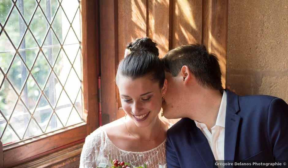 Le mariage de Quentin et Léa à Vallon-en-Sully, Allier