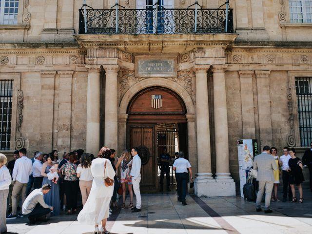 Le mariage de Thibaut et Clémence à Aix-en-Provence, Bouches-du-Rhône 15