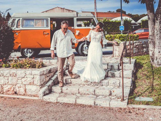 Le mariage de Julien et Anne à Roquefort-les-Pins, Alpes-Maritimes 8