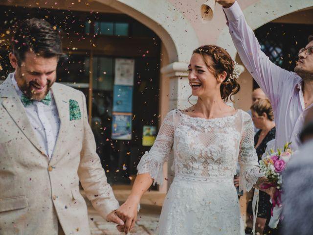 Le mariage de Julien et Anne à Roquefort-les-Pins, Alpes-Maritimes 35