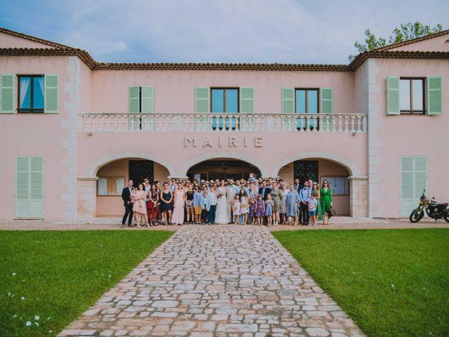 Le mariage de Julien et Anne à Roquefort-les-Pins, Alpes-Maritimes 37