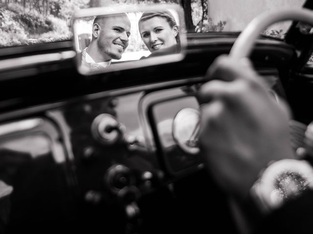 Le mariage de Augustin et Lucie à Peaugres, Ardèche 8