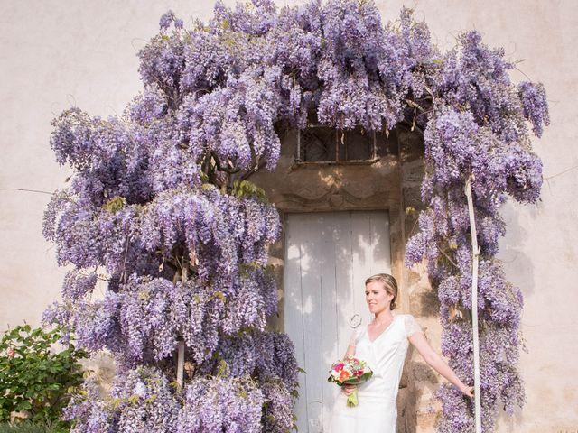 Le mariage de Augustin et Lucie à Peaugres, Ardèche 10