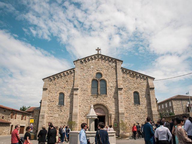 Le mariage de Augustin et Lucie à Peaugres, Ardèche 15