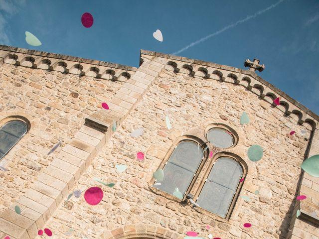 Le mariage de Augustin et Lucie à Peaugres, Ardèche 22
