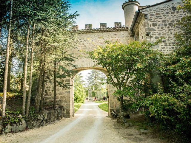 Le mariage de Augustin et Lucie à Peaugres, Ardèche 27