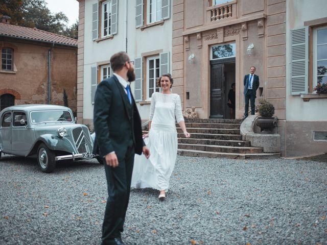 Le mariage de Quentin et Sidonie à Saint-Laurent-de-Chamousset, Rhône 15