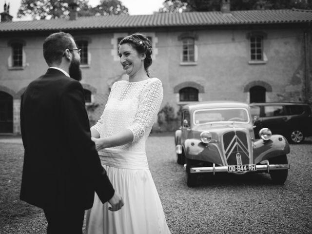 Le mariage de Quentin et Sidonie à Saint-Laurent-de-Chamousset, Rhône 16