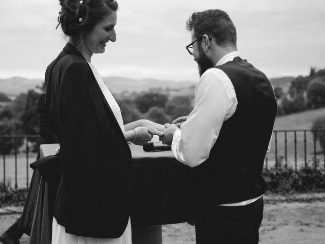 Le mariage de Quentin et Sidonie à Saint-Laurent-de-Chamousset, Rhône 26
