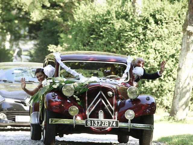 Le mariage de Chadi et Iuliia à Chens-sur-Léman, Haute-Savoie 15