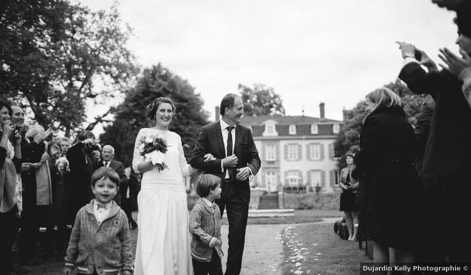 Le mariage de Quentin et Sidonie à Saint-Laurent-de-Chamousset, Rhône