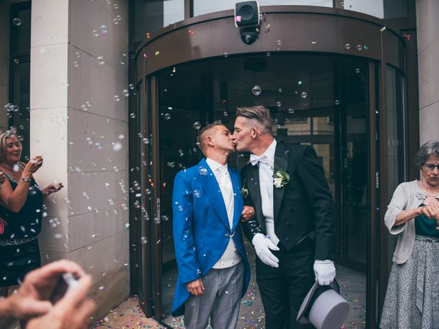 Le mariage de Yves et David