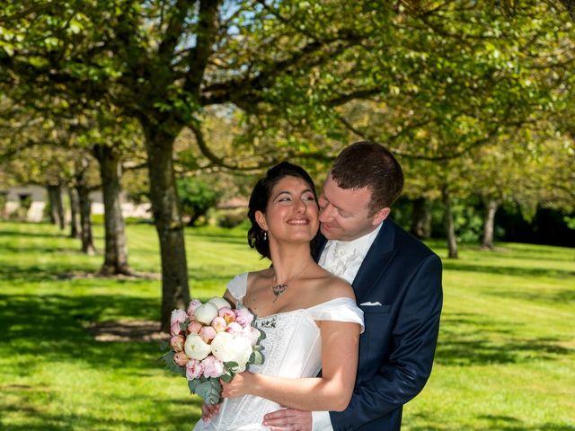 Le mariage de Nicolas et Rebecca à Aubigny-sur-Nère, Cher 10