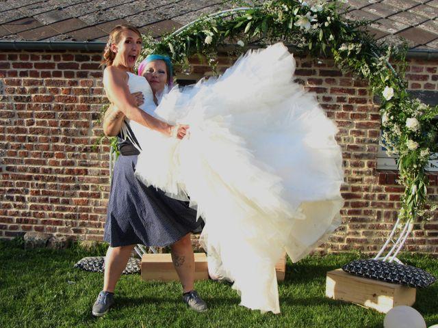 Le mariage de Jessica et Tony à Romeries, Nord 25
