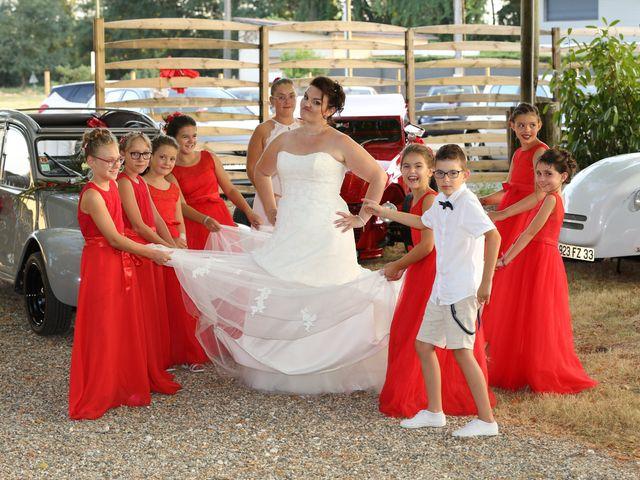 Le mariage de Patrice et Mélanie à Coutras, Gironde 19