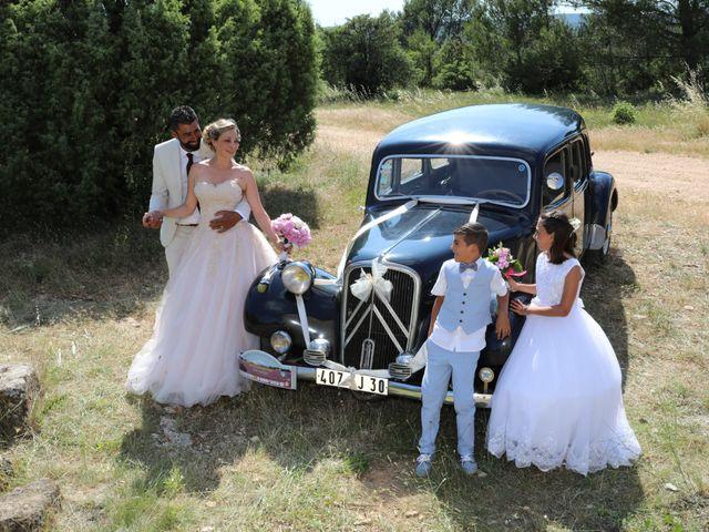 Le mariage de Julien et Pamela à Parignargues, Gard 2