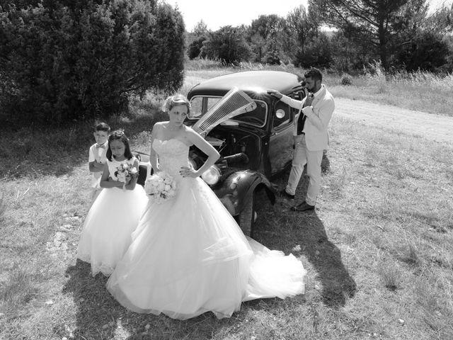 Le mariage de Julien et Pamela à Parignargues, Gard 8