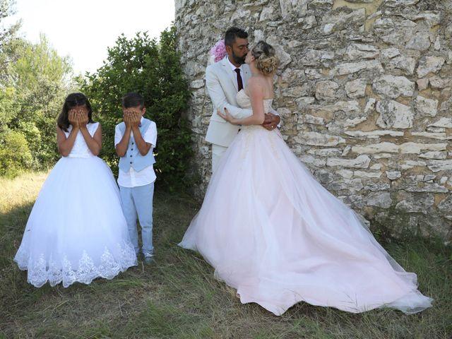 Le mariage de Julien et Pamela à Parignargues, Gard 10