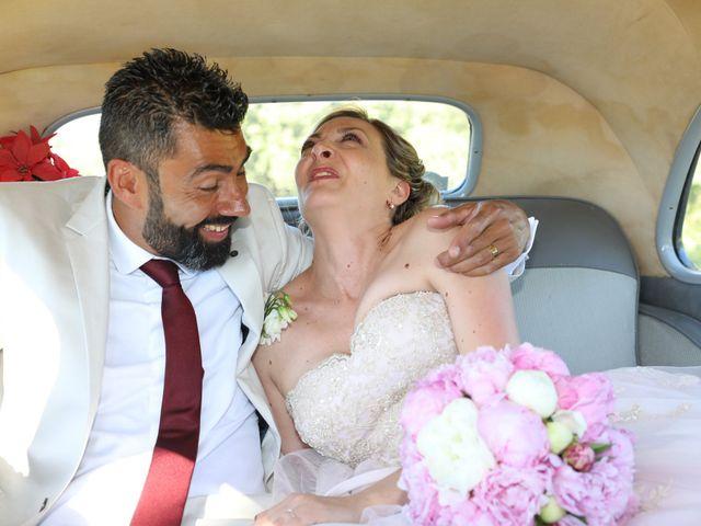 Le mariage de Julien et Pamela à Parignargues, Gard 16