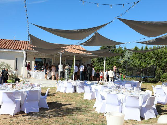 Le mariage de Julien et Pamela à Parignargues, Gard 18