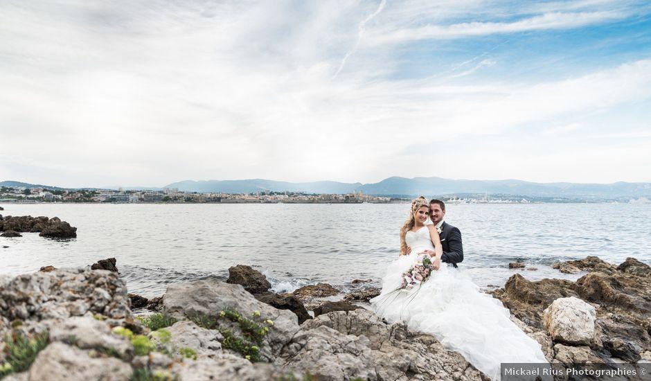 Le mariage de Jérémy et Audrey à Le Cannet, Alpes-Maritimes