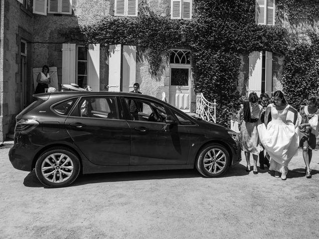 Le mariage de Tanguy et Charlotte à Aigurande, Indre 35