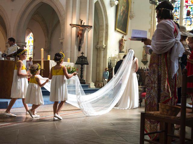 Le mariage de Tanguy et Charlotte à Aigurande, Indre 46