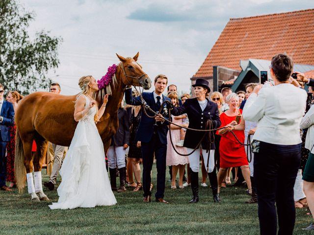 Le mariage de Thomas et Claire à Bersée, Nord 29