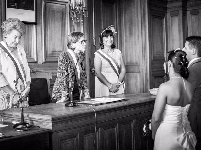 Le mariage de Michael et Diane à Paris, Paris 19