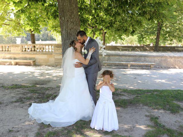Le mariage de Julien et Lucie à Nîmes, Gard 11
