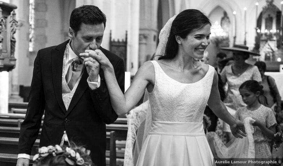 Le mariage de Tanguy et Charlotte à Aigurande, Indre