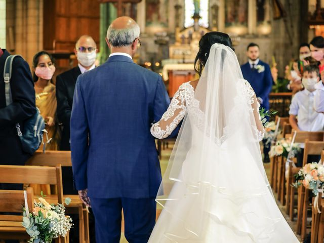 Le mariage de Robin et Mélinda à Sainte-Geneviève-des-Bois, Essonne 51