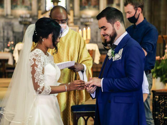 Le mariage de Robin et Mélinda à Sainte-Geneviève-des-Bois, Essonne 89