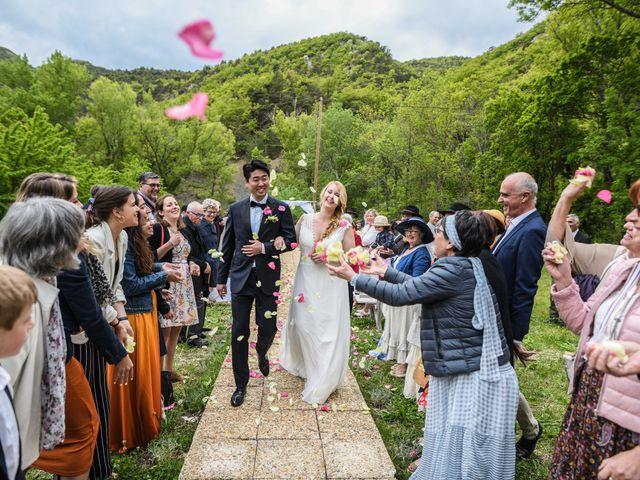 Le mariage de Chol et Mélusine à Nyons, Drôme 31