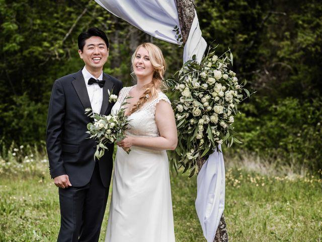 Le mariage de Chol et Mélusine à Nyons, Drôme 33