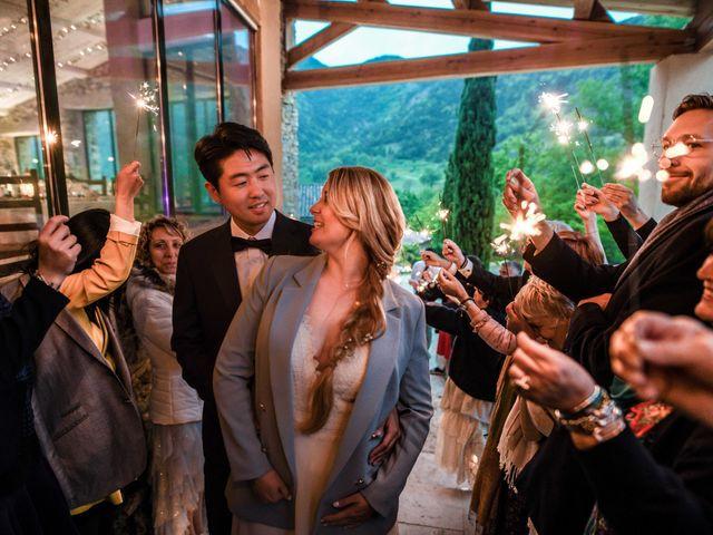 Le mariage de Chol et Mélusine à Nyons, Drôme 42