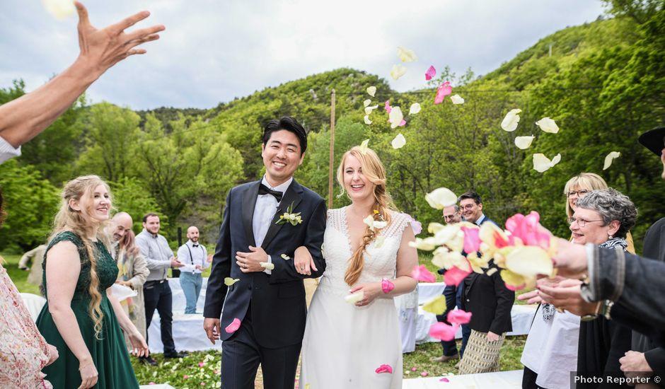 Le mariage de Chol et Mélusine à Nyons, Drôme