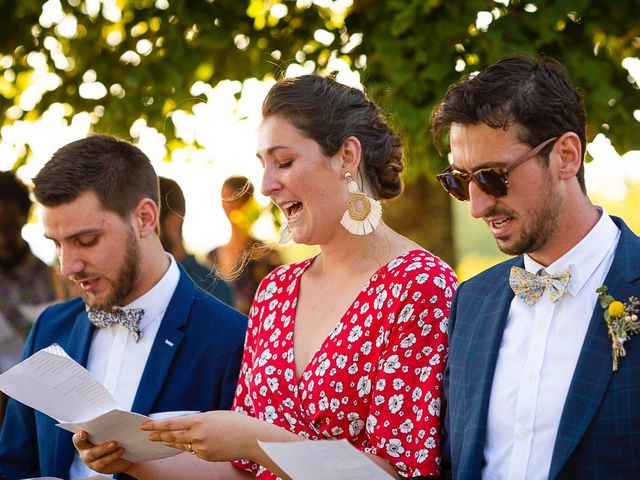 Le mariage de Emmanuel et Jennifer à Bourg, Gironde 78