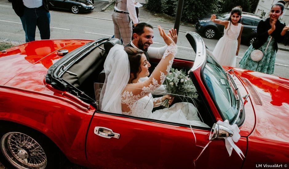 Le mariage de Cem et Lale à Ligsdorf, Haut Rhin