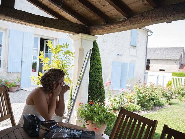 Le mariage de Benjamin et Amélie à Fontaine-Chalendray, Charente Maritime 14