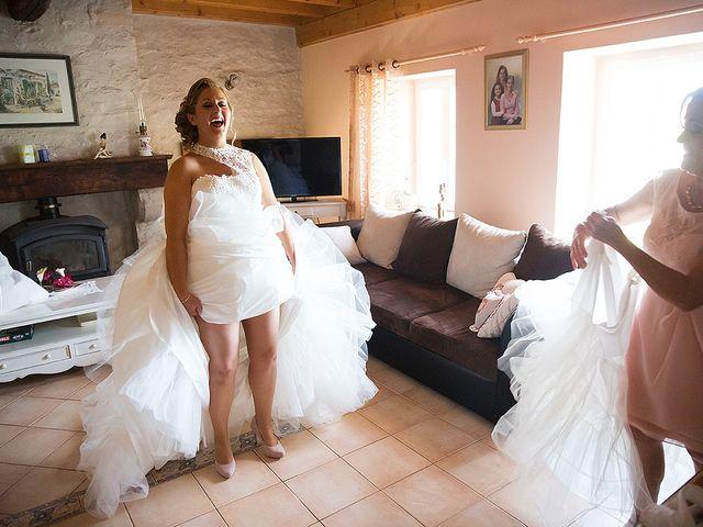 Le mariage de Benjamin et Amélie à Fontaine-Chalendray, Charente Maritime 18